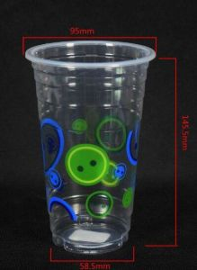 Disposable Cold Plastic Drinking Cup, 14/16 Oz pictures & photos