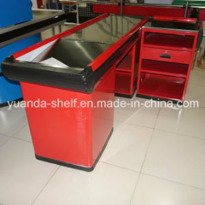 Hot Selling Supermarket Store Use Cashier Checkout Table Counter pictures & photos