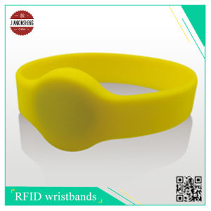 Silicone Wristband with Rfic Chip, Icode Slix and So So pictures & photos