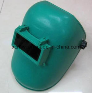 Lowest Brands of Welding Helmet with Lenses, Blue Simple Welding Mask, PP Material Mask, Senior Shading Level Welding Lens Welding Masks