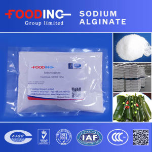 White Crystal Powder Sodium Alginate for Textile Printing and Dyeing pictures & photos