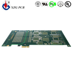 Multilayer High Precision Gold Plating PCB with 5 BGA pictures & photos