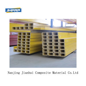 FRP Square Tube Fibre Glass Tube FRP Pultrusion Profiles pictures & photos