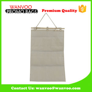 Canvas Stripe Durable Hanging Jewelry Organizer Storage Bag pictures & photos