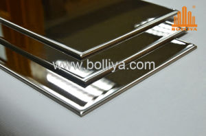 0.5mm&0.8mm Stainless Steel / Super Mirror Finish Metal / Stainless Steel Composite pictures & photos