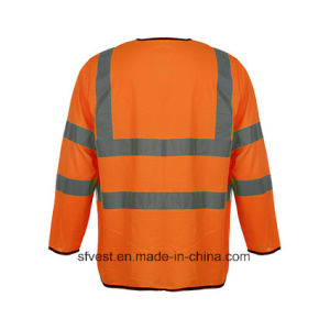 Long Sleeve High Visibility Safety Vest pictures & photos