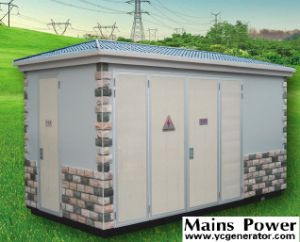 1600kVA 10kv or 22kv Dry Type Transformer Containerized Type pictures & photos