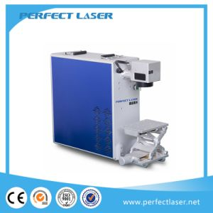 2017 Hot Sale Portable 20W 30W 50W Metal Fiber Laser Marker with Rotary System pictures & photos