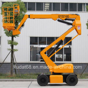 10m Electric Powered Articulated Hydraulic Boom Lift Gtzz10d pictures & photos