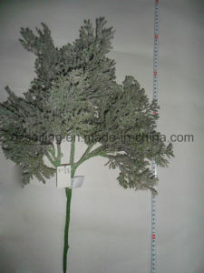 Artificail Leaves Flower for Christmas Winter Decoration (SHL15-F524)