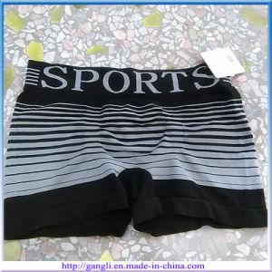 Men Mix Color Striped Sports Boxers