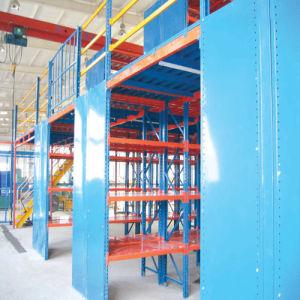 Steel Structure Mezzanine Storage Rack pictures & photos