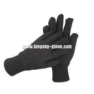 8oz Brown Jersey Liner Cotton Working Glove (2101) pictures & photos