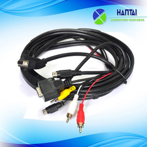 VGA Cable Max Resolution to Red White Yellow Cable