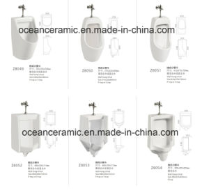 D16 Stand-Hung Urinal, Bathroom Accessories, Sanitary Ware pictures & photos