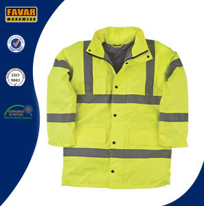 Hi-Vis Safety Padded Jacket for Motorway Policemen pictures & photos