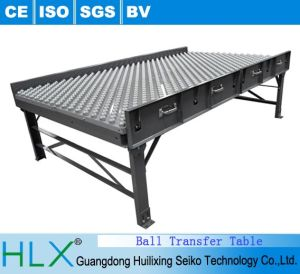 Carbon Steel Powder Coat Painted Ball Transfer Table pictures & photos