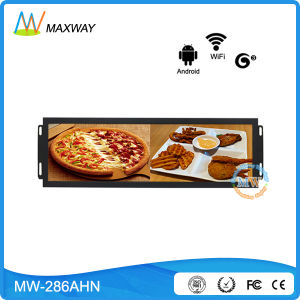 Build in Type Network Android OS 28.8 Inch Ultra Wide LCD Digital Signage pictures & photos