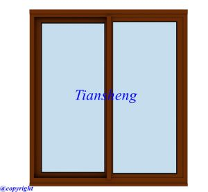 Aluminum Sliding Window with Toughed Glass for Australia Market pictures & photos