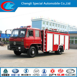 Euro 3 Water Fire Fighting Truck with Good Fire Pump pictures & photos