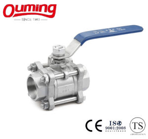 3PC Stainless Steel Ball Valve with Socket Welding End pictures & photos