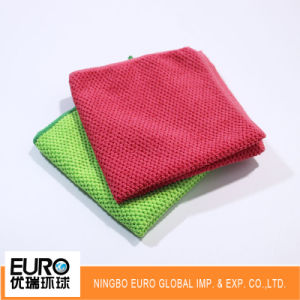 High Quality Factory Price Microfiber Cleaning Cloth Car Wash Cloth pictures & photos