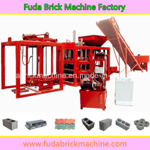 Qt4-20 Automatic Brick Production Line, Solid Concrete Block Machine pictures & photos