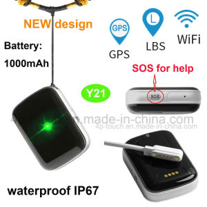 Newest Waterproof Personal Mini GPS Tracker with Sos Alarm Y21 pictures & photos