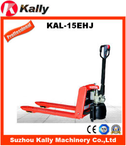 Semi Electric Pallet Truck in Material Handling Equipment (KAL-15EHJ)