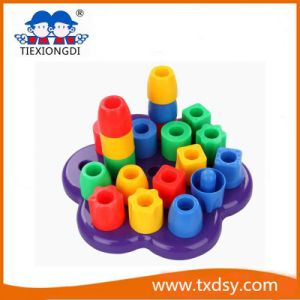 Environmental No-Toxic Plastic Building Blocks for Children pictures & photos