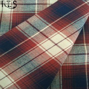 Cotton Flannel Woven Yarn Dyed Fabric for Garments Shirts/Dress Rls21-3FL pictures & photos