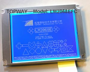 "320X240 3.8"" LCD Display FSTN LCD Module (LM2068E) with Controller IC Sid13700 pictures & photos"