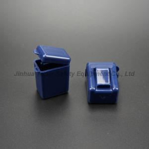 Portable Plastic Sound-Proof Ear Plugs Storage Box pictures & photos