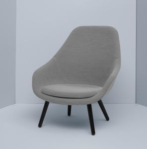 Fiberglass Leisure Coffee Chair with Solid Wood Base pictures & photos