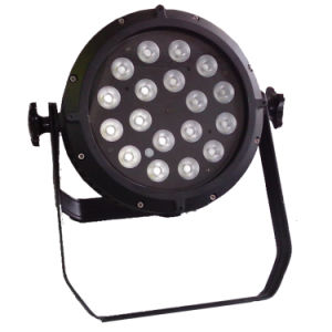 Waterproof 4in1 18PCS LED Aluminum PAR Light pictures & photos
