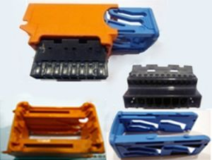 Precision Plastic Connector Mould with Injection Molding pictures & photos