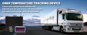 GPS Tracking and Temperature Monitoring for Reefer Trucks pictures & photos