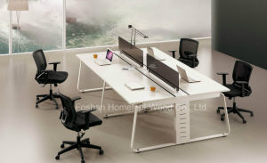 Modern White Workstation Desk Office Furniture (HF-YZP0063) pictures & photos