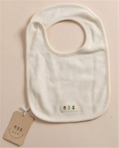 Organic Cotton Baby Bib for 0-12m pictures & photos
