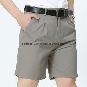 High Quality Cotton Mens Casual Pants Short Western-Style Clothes pictures & photos