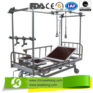 Stainless Steel Double Column Orthopaedic Traction Bed (CE/FDA/ISO) pictures & photos
