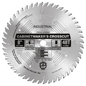 T. C. T. Saw Blade for Aluminum and Plastic