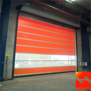 Automatic PVC Fast Shutter Door (HF-K406) pictures & photos
