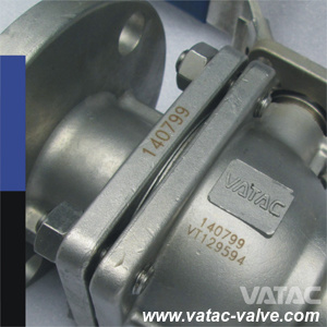 API 6D Floating 2 Pieces Type 1000 Wog Ball Valve pictures & photos