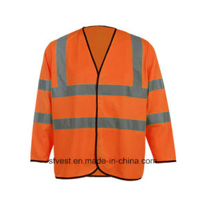 Long Sleeve High Visibility Safety Vest