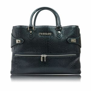 Elegant Crocodile Grain Leather Designs of Handbags for Womens pictures & photos