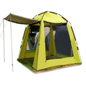 Outdoor Tent Camping Tent 5-8 People Tent Park Beach Tent pictures & photos