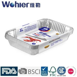 Keep Food Fresh Aluminum Foil Containter