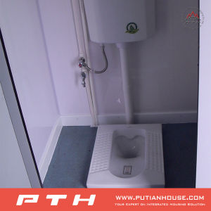 Container Public Toilet Shower Room Project in Gabon pictures & photos