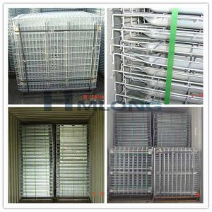 Galvanized Euro Steel Decking for Pallet Racking pictures & photos